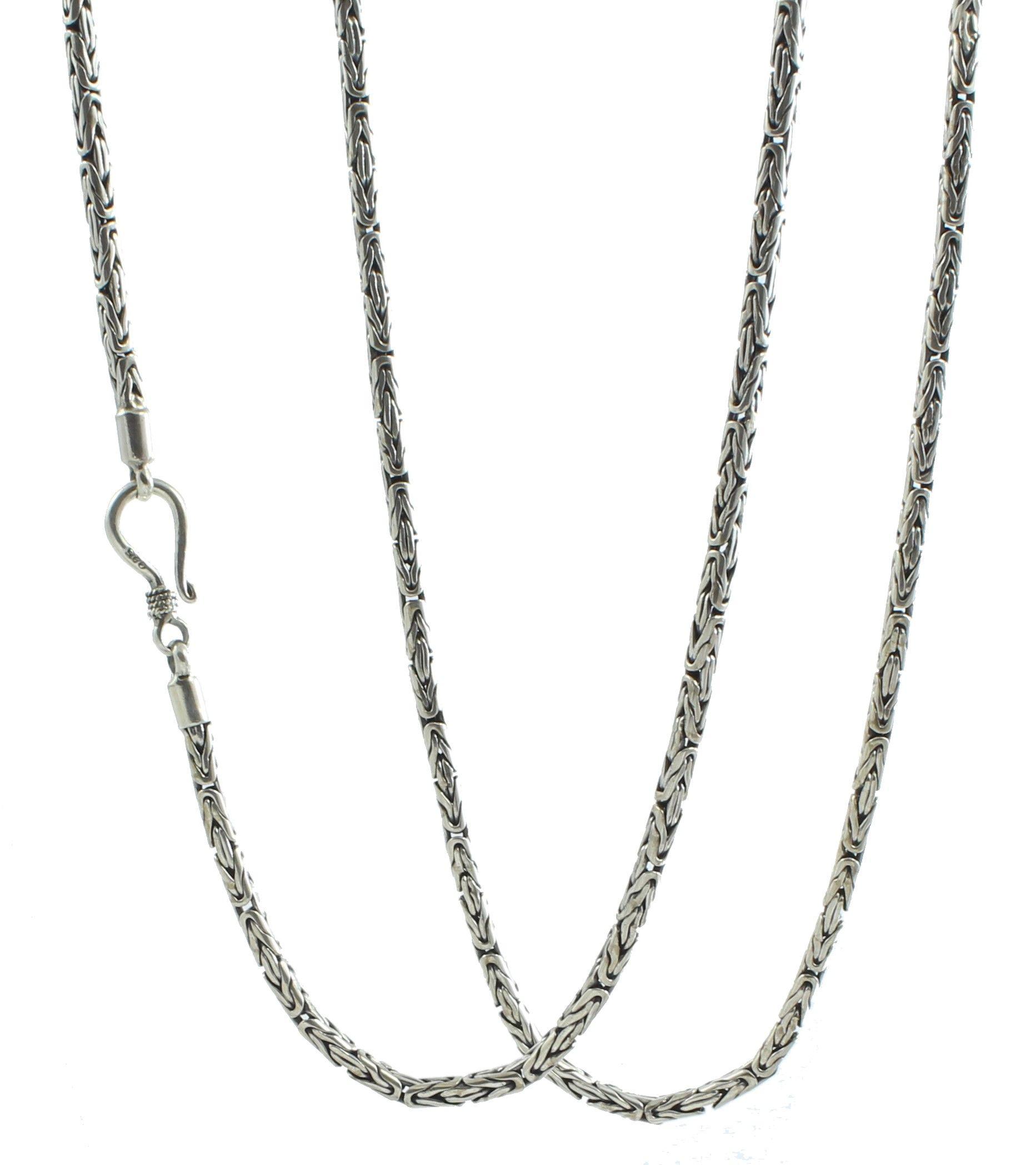 cadena plata bizantinos borobudur shadisilver