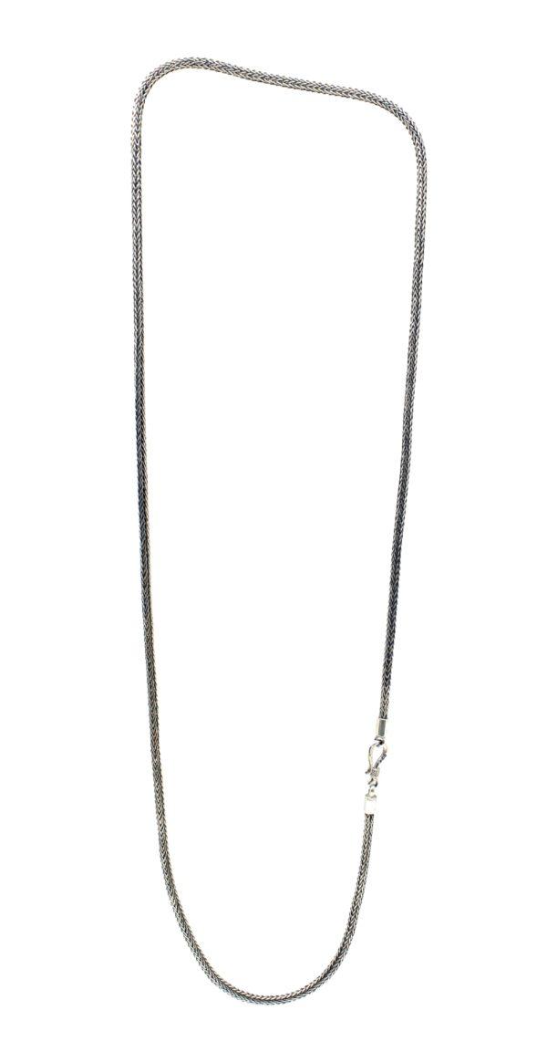 cadena de plata de ley eslabones serpiente Shadisilver