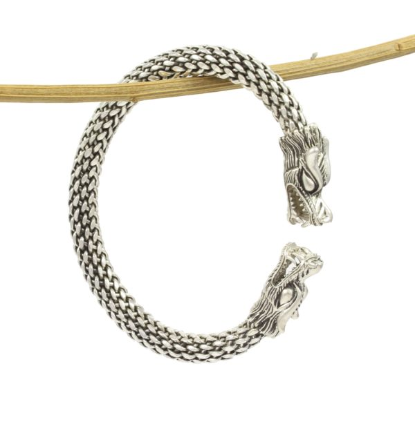 Brazalete plata dragon 1 Shadisilver