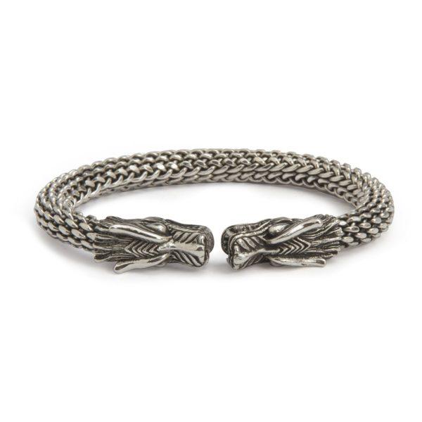 Brazalete de plata dragon shadisilver