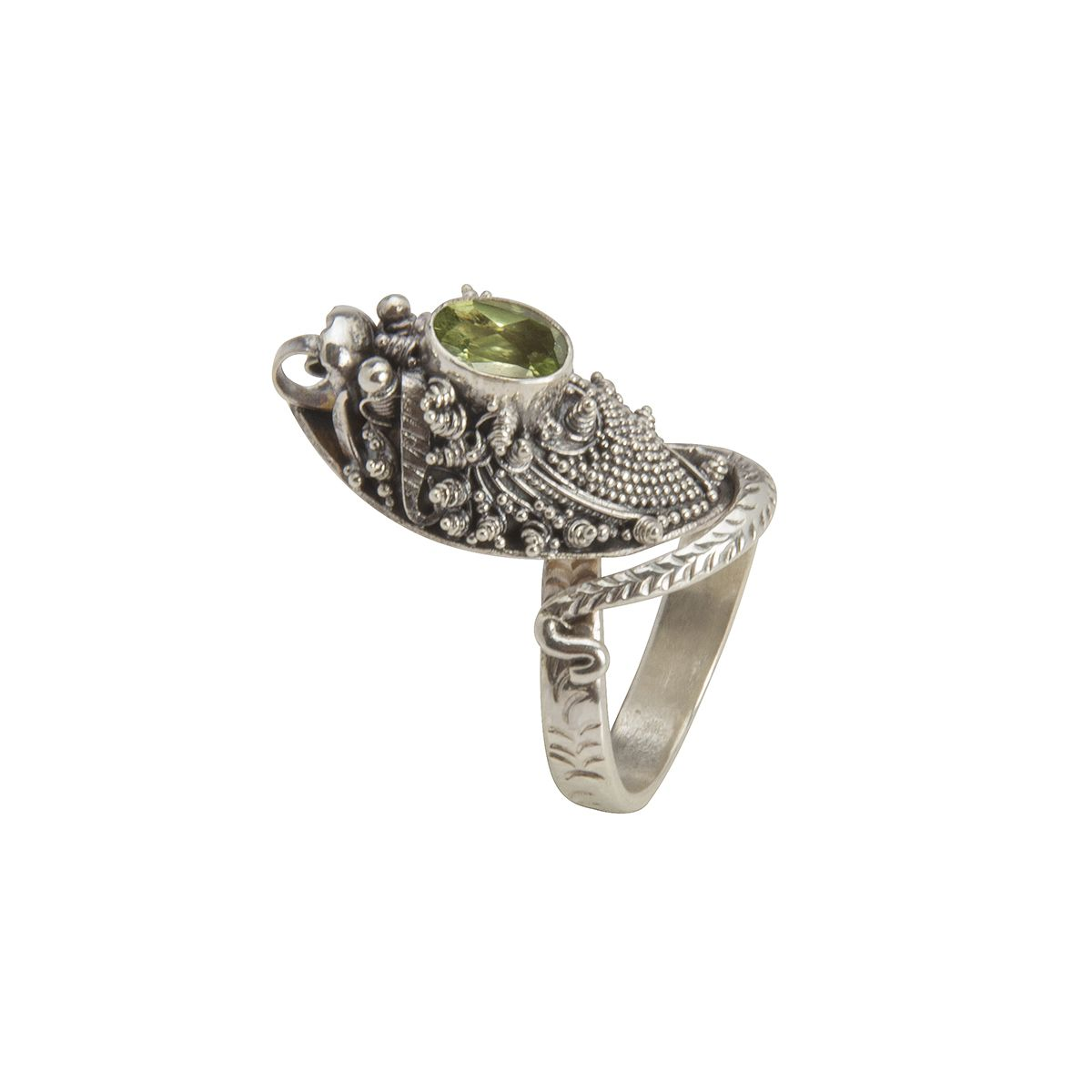anillo de plata serpiente con peridoto shadisilver.jpg