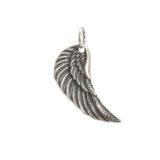 colgante de plata ala de angel shadisilver