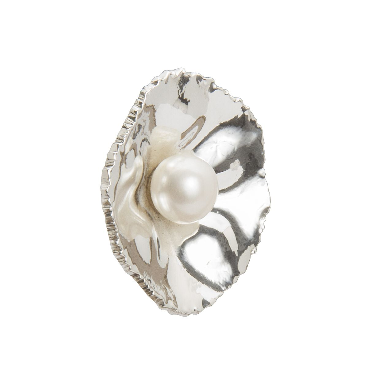colgante de plata con perla shadisilver