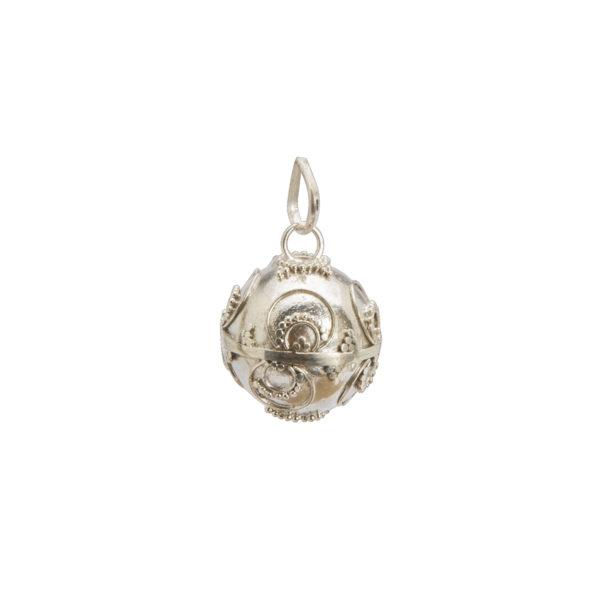 Llamador de angeles de plata 20 mm Shadisilver