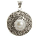 Colgantes con perlas