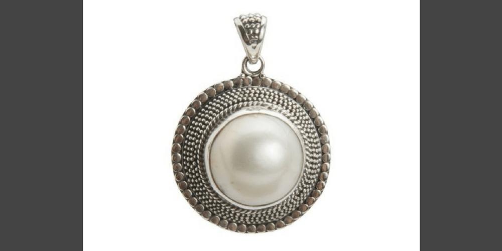 colgantes de perla- shadisilver.com