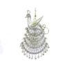Colgante y broche de plata de ley filigrana Shadisilver