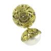 Pendientes de plata con baño de oro y perlas Shadisilver