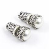 Pendientes de plata de ley con perla natural Shadisilver (6)