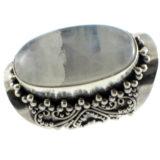 Anillo de plata de ley con piedra de Luna Shadisilver (2)