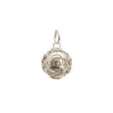 Llamador de angeles de plata 18 mm Shadisilver